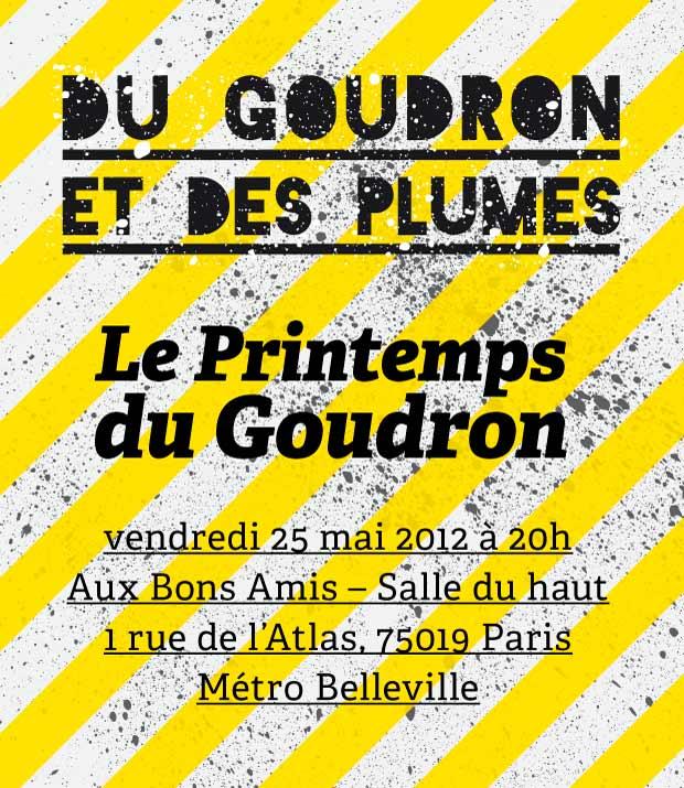 Le Printemps du Goudron